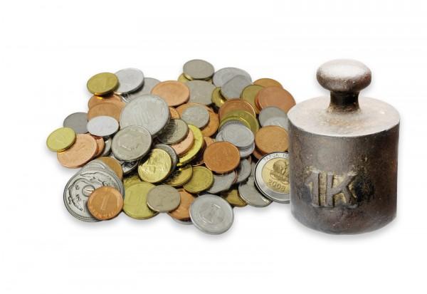 Weltmünzen Paket 1kg