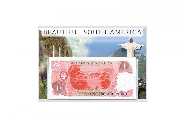 Banknoten Kollektion Südamerika