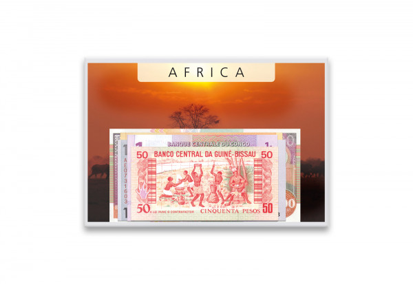 Banknoten Kollektion Afrika