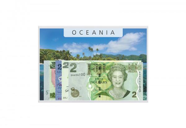 Banknoten Kollektion Ozeanien