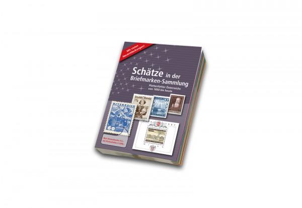 Plattenfehler-Katalog Österreich von 1850 bis heute Schätze Briefmarken-Sammlung