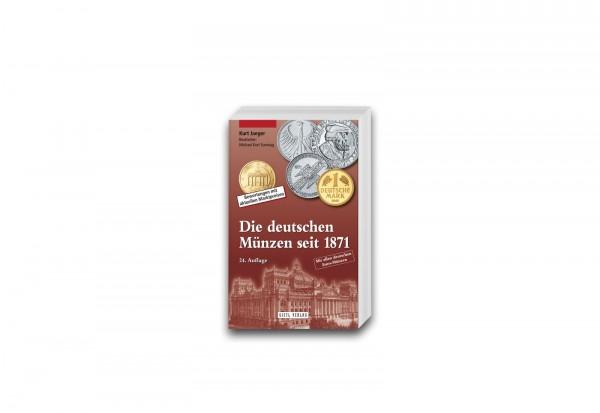 Die deutschen Münzen seit 1871 von Kurt Jaeger