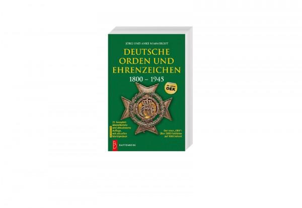 Buch Deutsche Orden und Ehrenzeichen 1800 bis 1945 von Jörg u. Anke Nimmergut