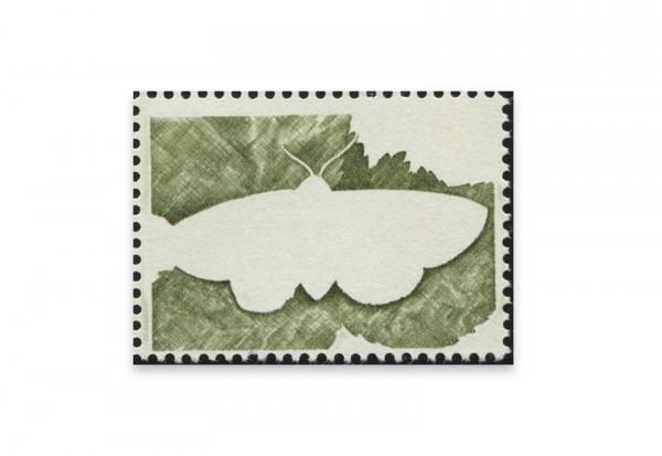 Briefmarken Versuchsdruck WIFAG Schmetterling Phase 2 mit Originalgummierung
