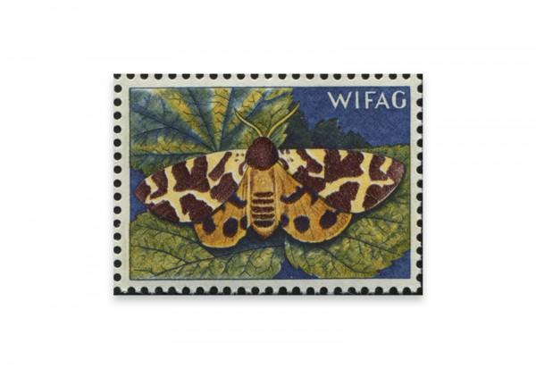 Briefmarken Versuchsdruck WIFAG Schmetterling Phase 7 mit Originalgummierung