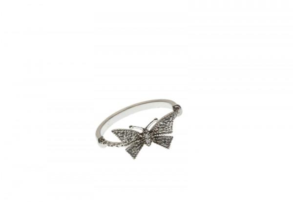 Der Diamant-Ring Schmetterling Größe 16