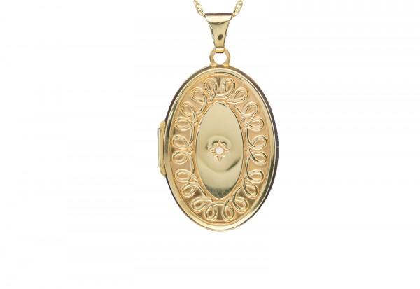 Memories Liebevolle Erinnerung Kette 45cm mit Amulett