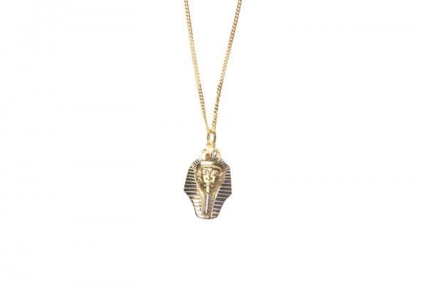 Anhänger Tutanchamun Maske mit Kette 925er Silber