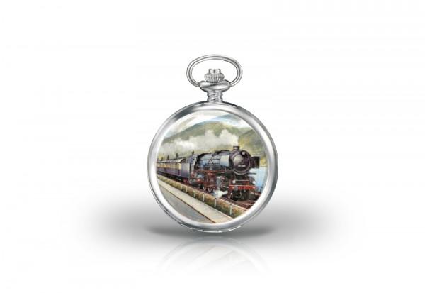 Herren Taschenuhr Rheingold Baureihe 01 of Steam Collection
