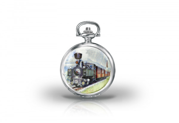 Herren Taschenuhr Reihe U of Steam Collection
