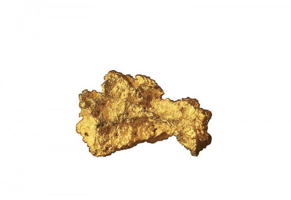 Goldnugget Goldrausch in Klondike inkl. Folder