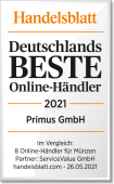 Handelsblatt Siegel Deutschland Bester Online-Händler