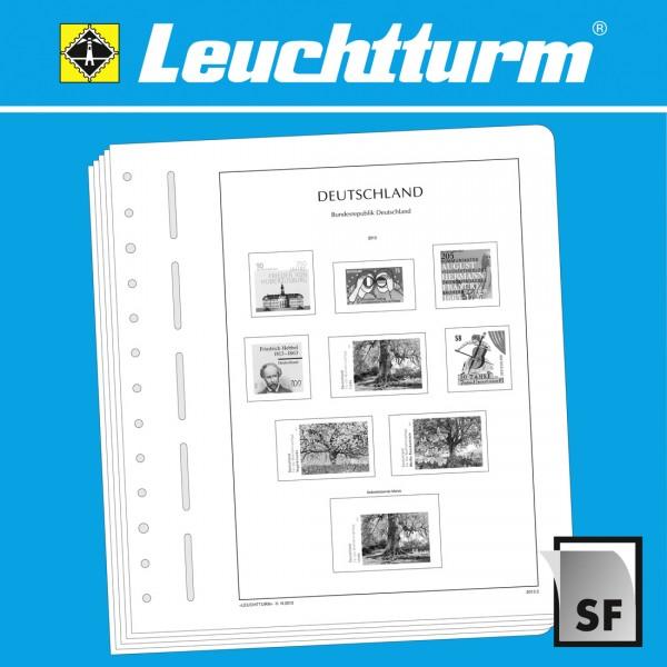 LEUCHTTURM SF-Vordruckblätter UNO New York Flaggenbogen 1980-1989