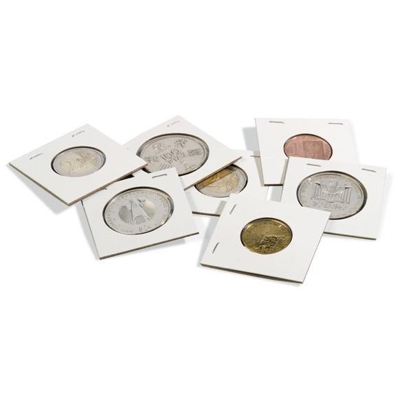 Münzrähmchen TACK 25 mm zum Heften 100er-Pack