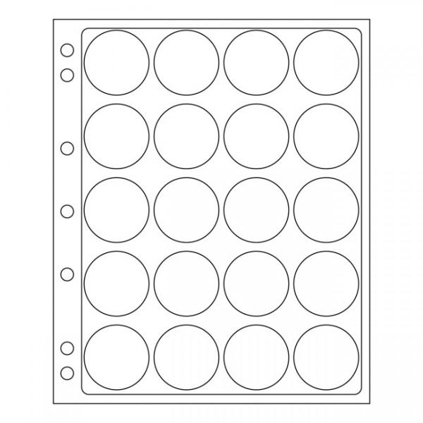 Kunststoffhüllen ENCAP 44/45,2er Pack