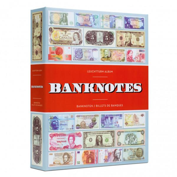 Leuchtturm Banknotenalbum für 300 Banknoten