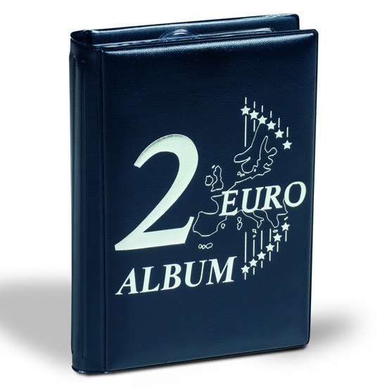 Leuchtturm Taschenalbum für 48x 2 Euro Münzen