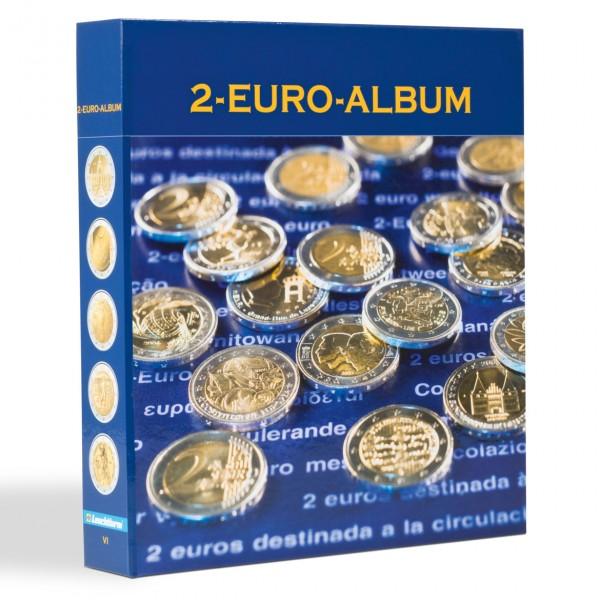 NUMIS-Vordruckalbum für 2-Euro-Gedenkmünzen aller Euro-Länder, deutsch, Band 6