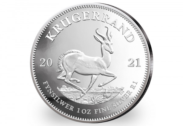 Krügerrand 1 oz Silber 2021 Südafrika