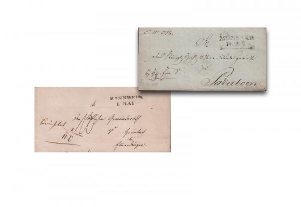 1 Original Vorphila Beleg aus ca. 1750-1850