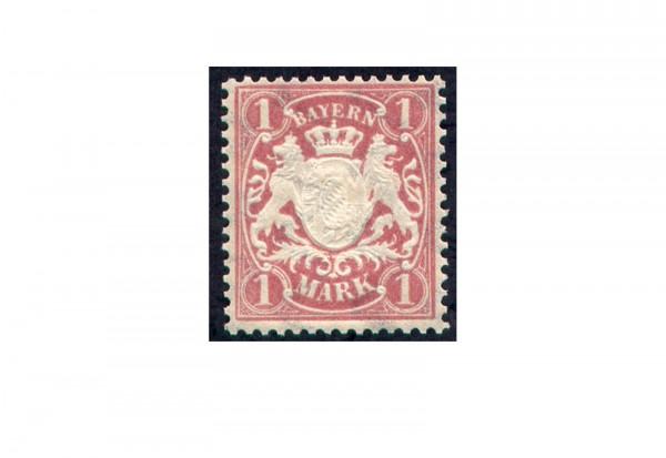Briefmarke Altdeutschland Bayern Freimarke 1881 Michel-Nr. 53 postfrisch
