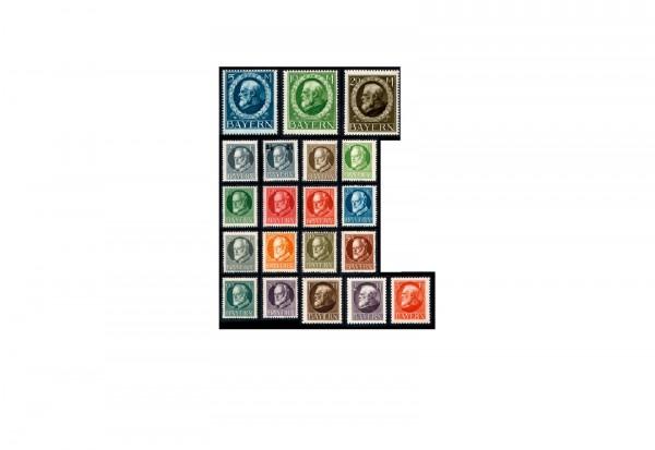 Briefmarken Altdeutschland Bayern Freimarken 1914-1916 Michel-Nr. 94-115 A postfrisch