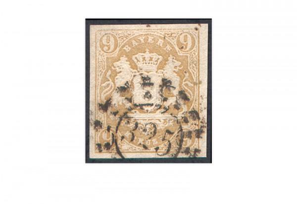 Briefmarke Altdeutschland Bayern Freimarke 1867 Michel-Nr. 17 gestempelt