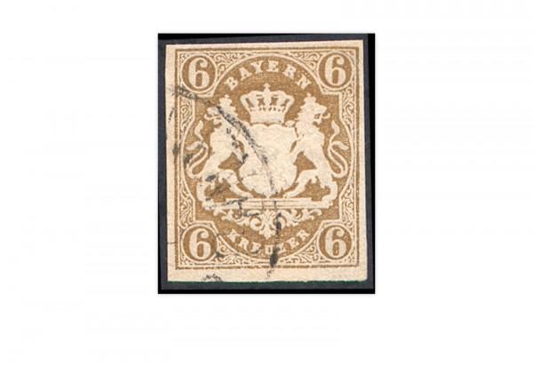 Briefmarke Altdeutschland Bayern Freimarke 1868 Michel-Nr. 20 gestempelt