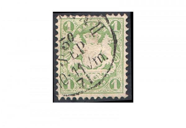 Briefmarke Altdeutschland Bayern Freimarke 1870 Michel-Nr. 22 y gestempelt