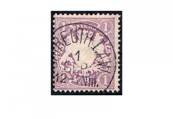 Briefmarke Altdeutschland Bayern Freimarke 1874 Michel-Nr. 31 gestempelt