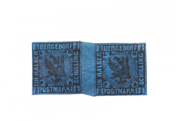 Briefmarke Altdeutschland Bergedorf Freimarke 1867 Michel-Nr. 1 b ZW postfrisch