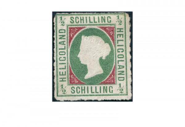 Briefmarke Altdeutschland Helgoland Freimarke 1867 Michel-Nr. 1 ungebraucht ohne Gummierung