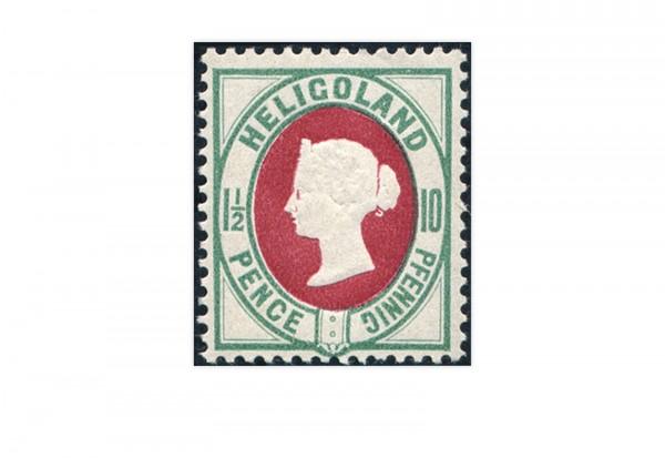 Briefmarke Altdeutschland Helgoland Freimarke 1875 Michel-Nr. 14 Falz