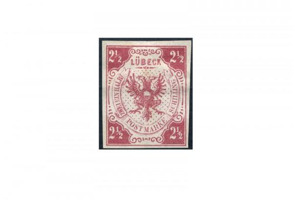 Briefmarke Altdeutschland Lübeck Freimarke 1859 Michel-Nr. 4 ungebraucht