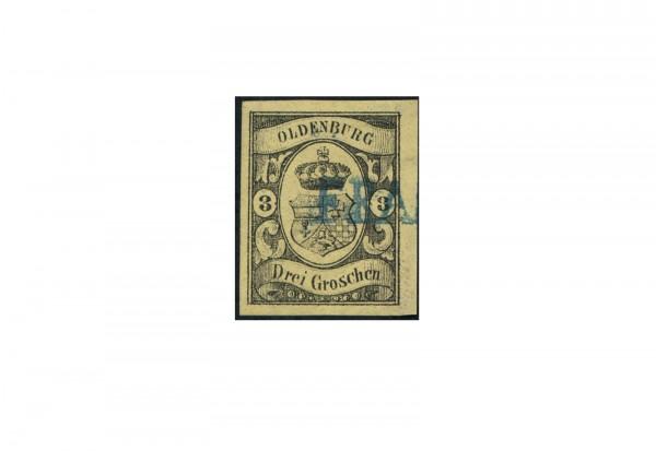 Briefmarke Altdeutsche Staaten Oldenburg Freimarke 1859-1861 Michel-Nr. 8 gestempelt