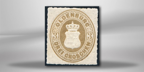Oldenburg Mi.Nr. 19 **