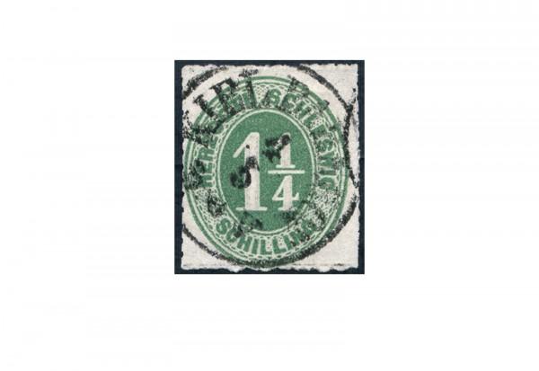 Briefmarke Altdeutschland Schleswig-Holstein Freimarke 1864 Michel-Nr. 4 gestempelt