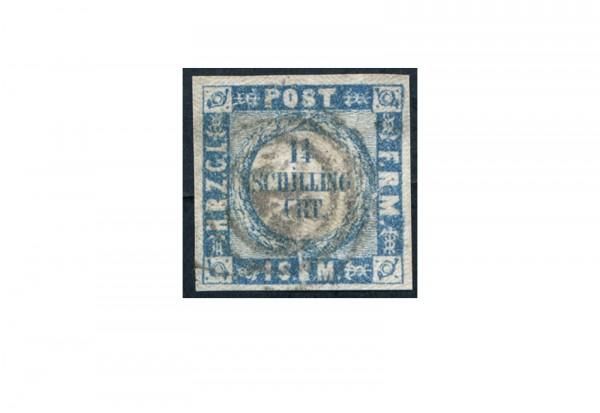Briefmarke Altdeutschland Schleswig-Holstein Freimarke 1864 Michel-Nr. 5 gestempelt