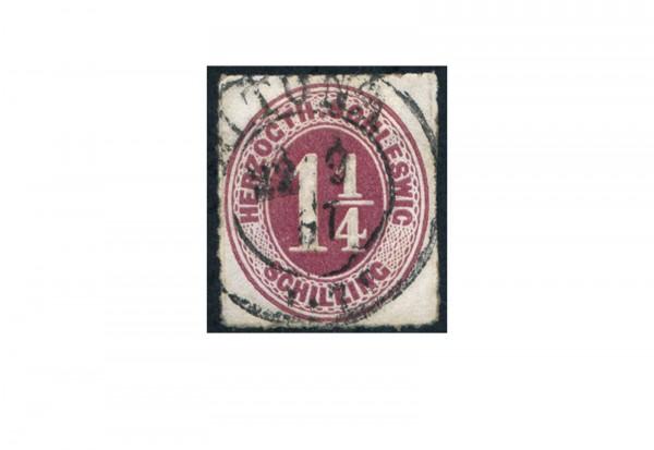 Briefmarke Altdeutschland Schleswig-Holstein Freimarke 1865 Michel-Nr. 8 gestempelt