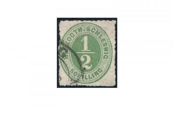 Briefmarke Altdeutschland Schleswig-Holstein Freimarke 1865-1867 Michel-Nr. 13 gestempelt