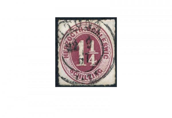 Briefmarke Altdeutschland Schleswig-Holstein Freimarke 1865-1867 Michel-Nr. 14 gestempelt