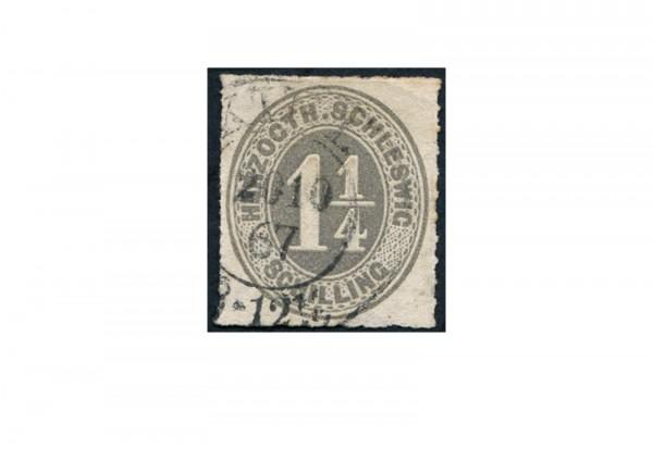 Briefmarke Altdeutschland Schleswig-Holstein Freimarke 1867 Michel-Nr. 18 gestempelt