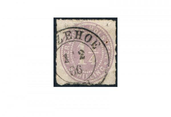 Briefmarke Altdeutschland Schleswig-Holstein Freimarke 1865-1866 Michel-Nr. 20 gestempelt