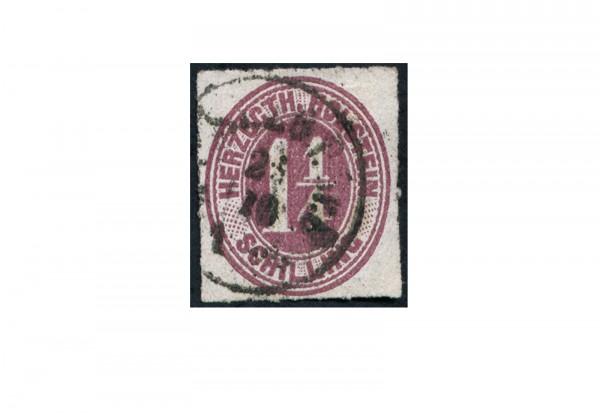 Briefmarke Altdeutschland Schleswig-Holstein Freimarke 1865-1866 Michel-Nr. 22 gestempelt