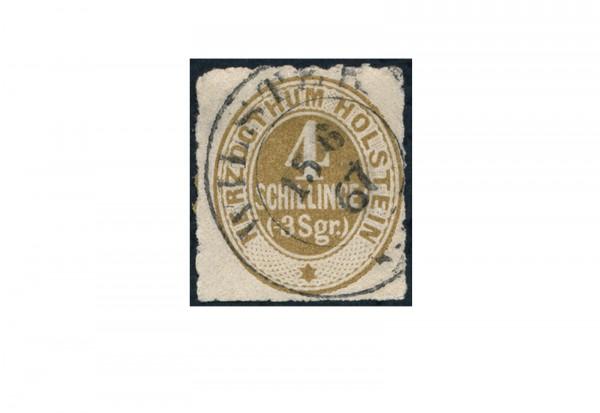 Briefmarke Altdeutschland Schleswig-Holstein Freimarke 1865-1866 Michel-Nr. 25 gestempelt