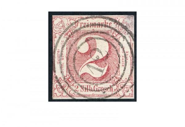Briefmarke Altdeutschland Thurn und Taxis Freimarke 1859-1861 Michel-Nr. 16 gestempelt