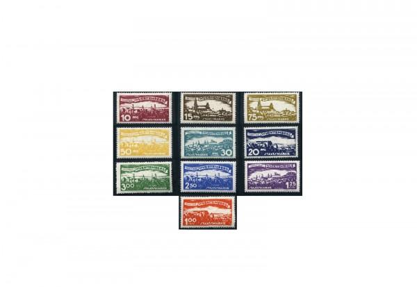Briefmarken Altdeutschland Württemberg Dienstmarken 1920 Michel-Nr. 272-281 postfrisch