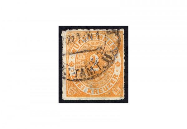 Briefmarke Altdeutschland Württemberg Freimarke 1872 Michel-Nr. 37 gestempelt