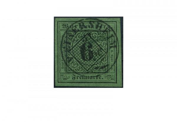Briefmarke Altdeutschland Württemberg Freimarke 1851 Michel-Nr. 3 gestempelt