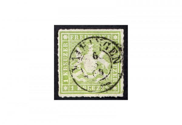 Briefmarke Altdeutschland Württemberg Freimarke 1865 Michel-Nr. 30 gestempelt